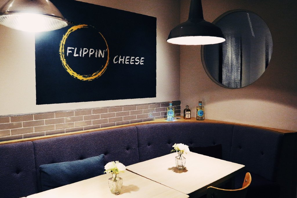 Flippin cheese restaurant interior