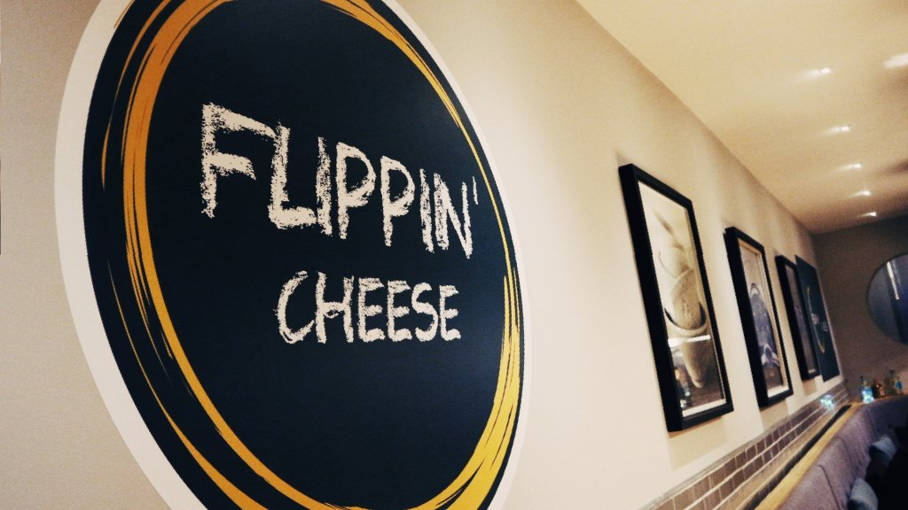 Flippin' Cheese restaurant Aberdeen logo