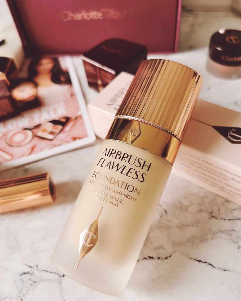 Charlotte Tilbury Airbrush flawless foundation in shade 3